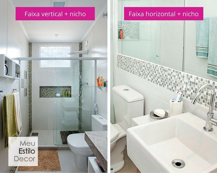duvidasreformarbanheiropequenopastilhas • MeuEstiloDecor -> Banheiro Pequeno Simples Com Pastilhas