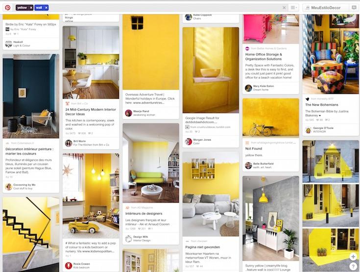 Como usar o Pinterest para Decorar sua Casa faça buscas específicas