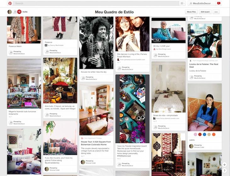 Como usar o Pinterest para decorar sua casa do jeito certo moodboard