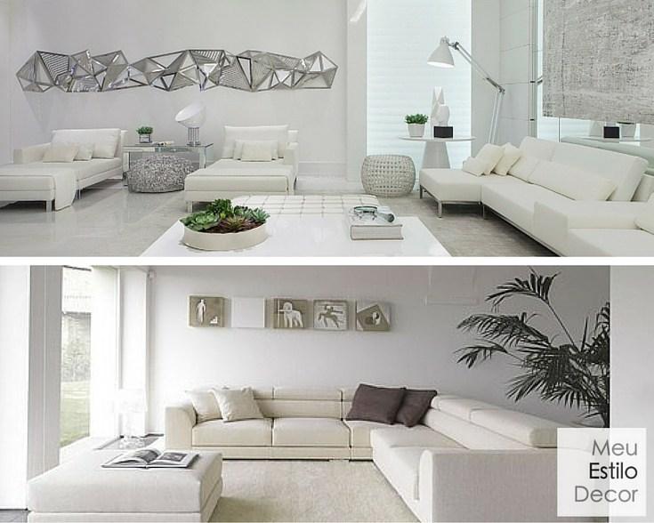 personalidade e significado do branco na decoração minimalista