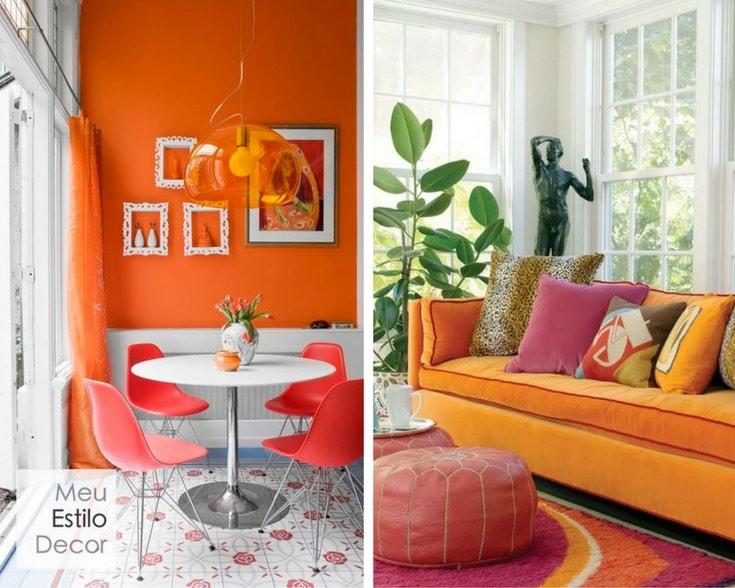 personalidade-significado-laranja-decoracao-rosa