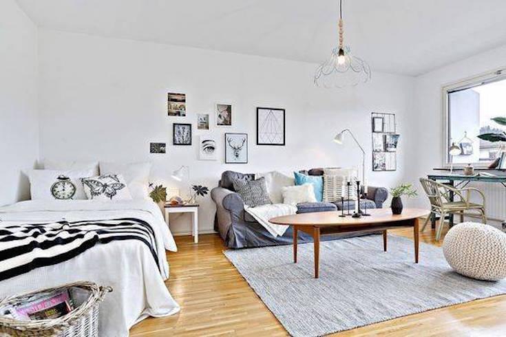 como-decorar-apartamento-studio-tapete