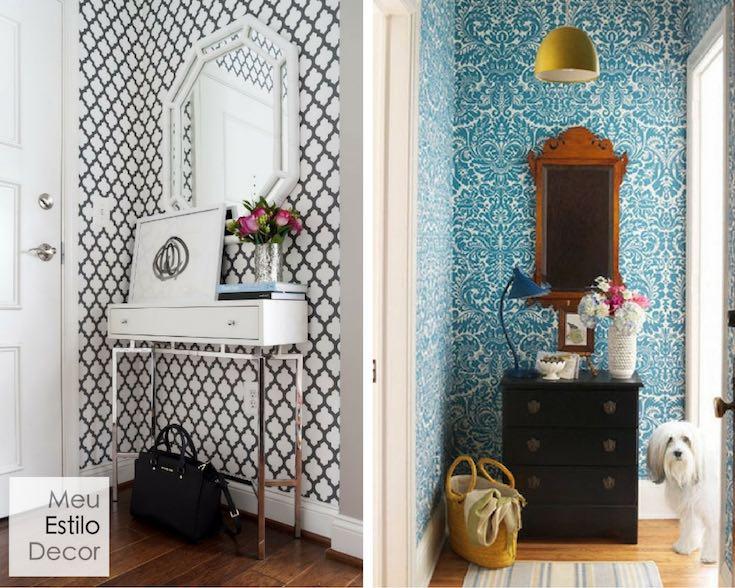como-usar-papel-parede-decoracao-hall