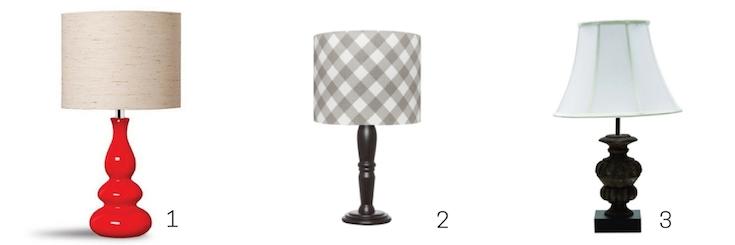 luminárias de mesa clássicas tipo abajur