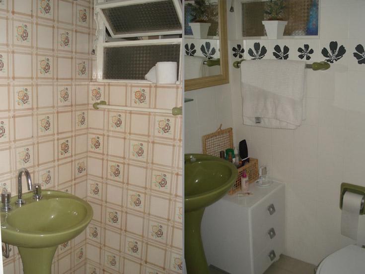 Banheiro feio como salvar seu banheiro sem reforma for Pintura para ceramicos y azulejos