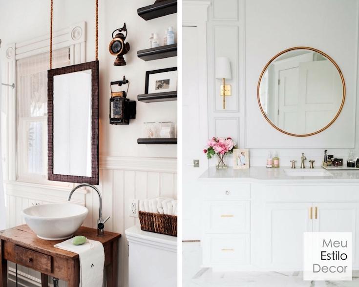 Tamanho De Espelho Banheiro : Banheiro feio como salvar seu sem reforma