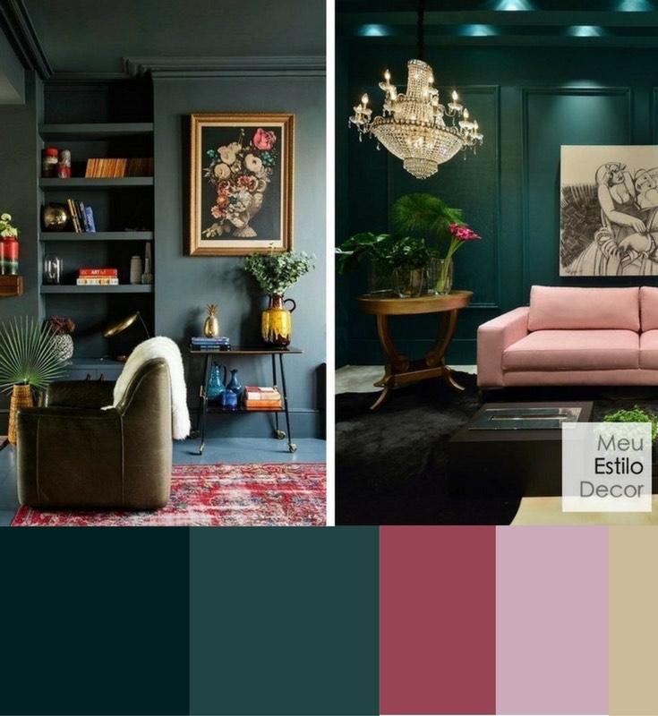 paleta de cores na decoração o que é e como escolher