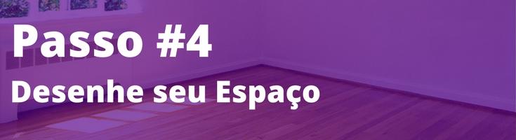 7 passos de decoração passo 4 desenhe seu espaço