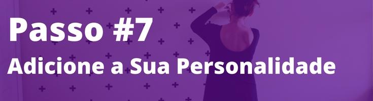 7 passos de decoração passo 7 adicione a sua personalidade