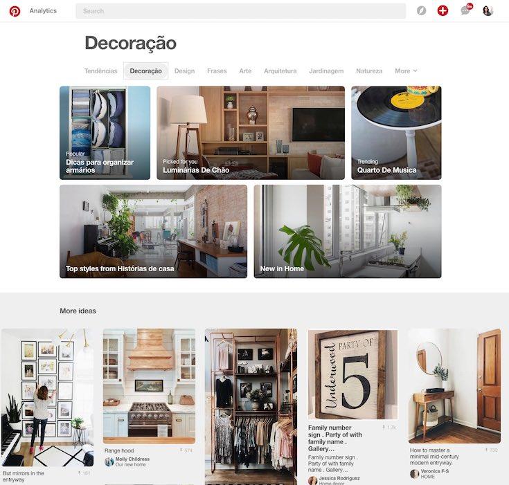 Como usar o Pinterest para decorar sua casa do jeito certo explore