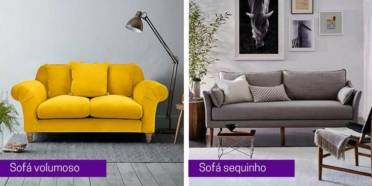 o sofá perfeito para sala pequena sofá sequinho