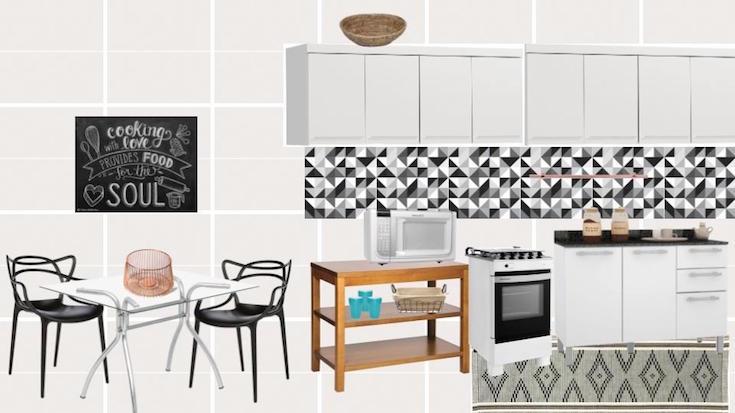 cozinha moderna MeuEstiloDecor