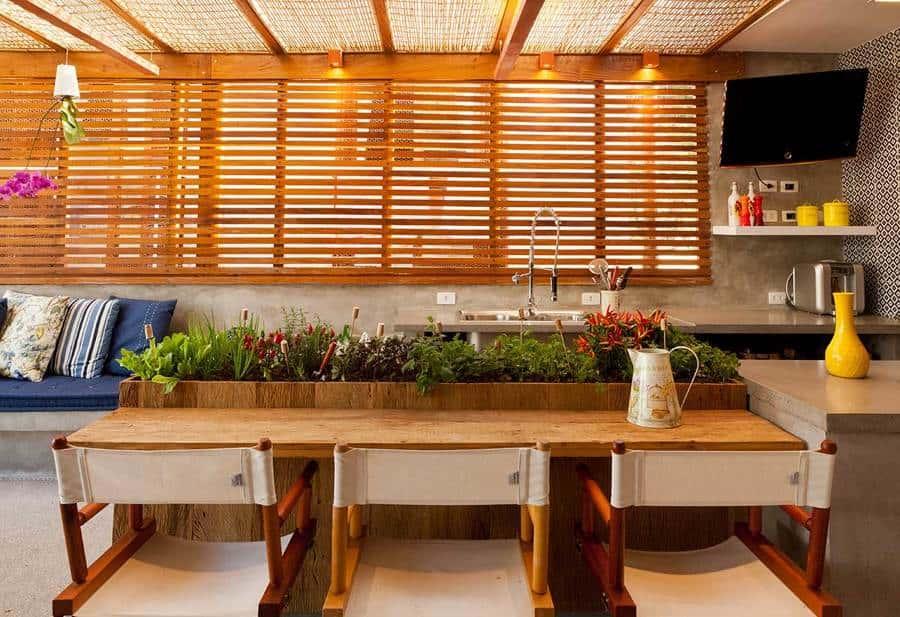 6 ideias para montar sua horta area gourmet