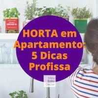 Horta em Apartamento: 5 Dicas Profissa