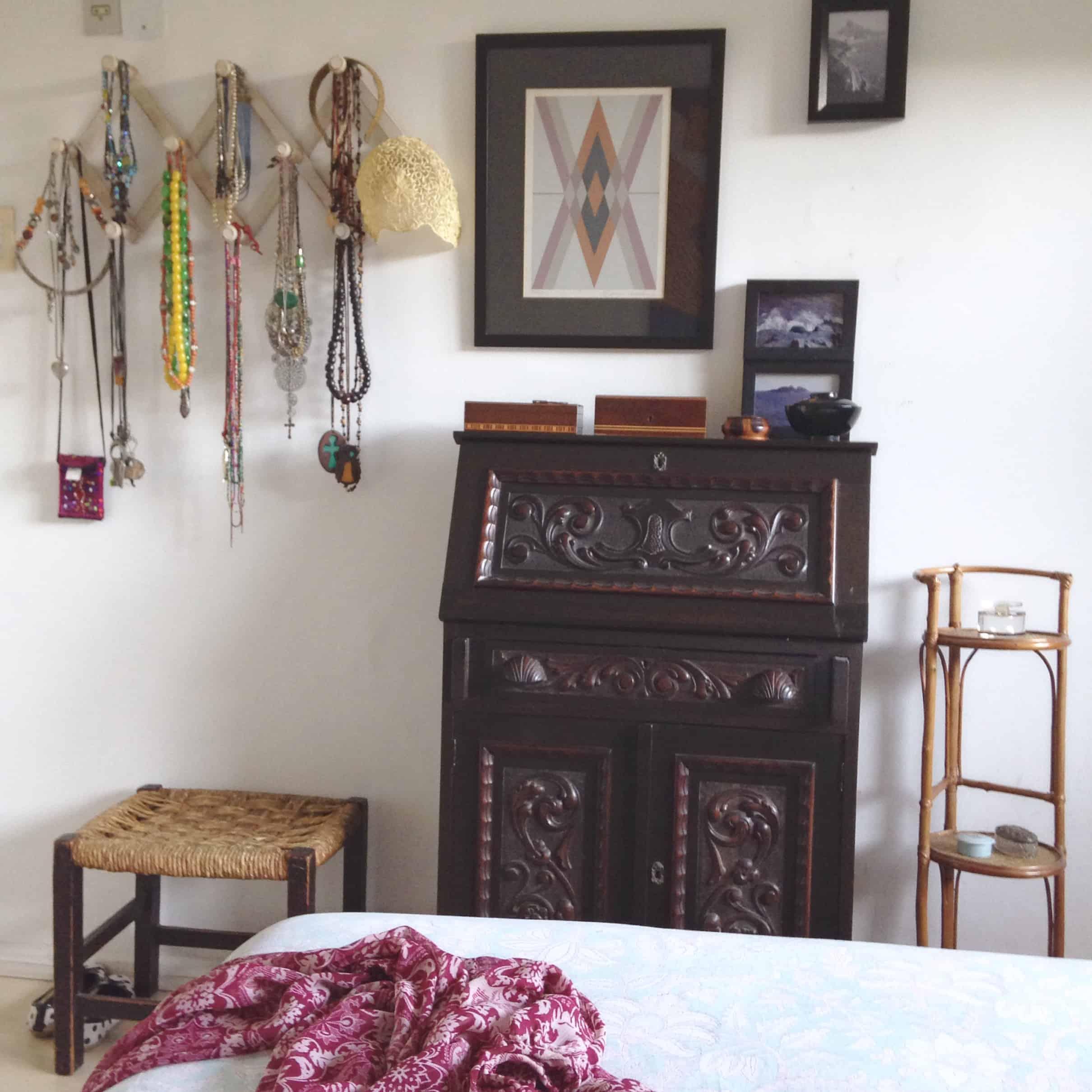 decoração simples e estilosa de a a z herança móveis com história