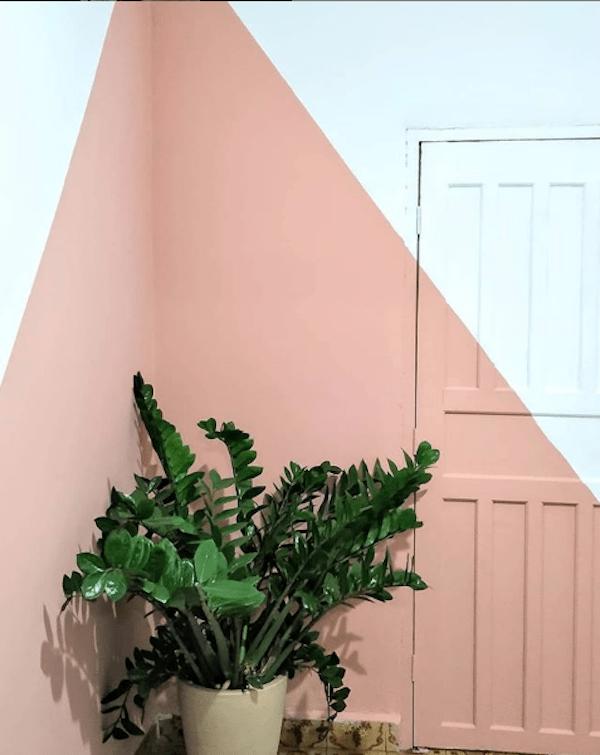 10 tendencias de decoração para 2019 parede geometrica