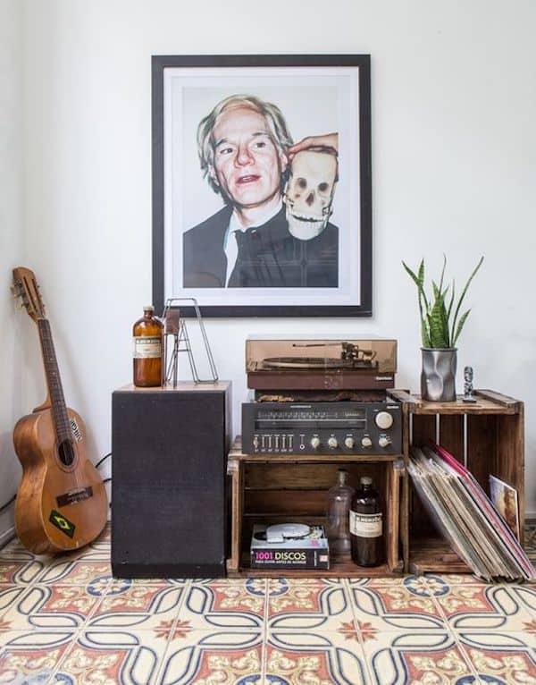 tendencias decoracao 2020 sala de musica