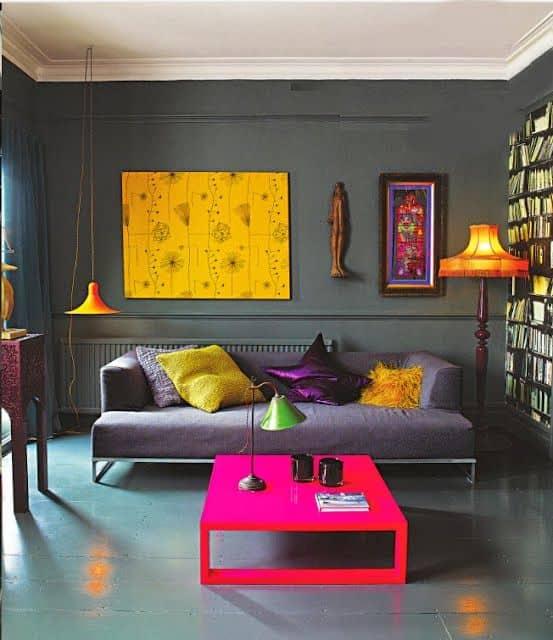combinação de cores e moods na decoração criatividade