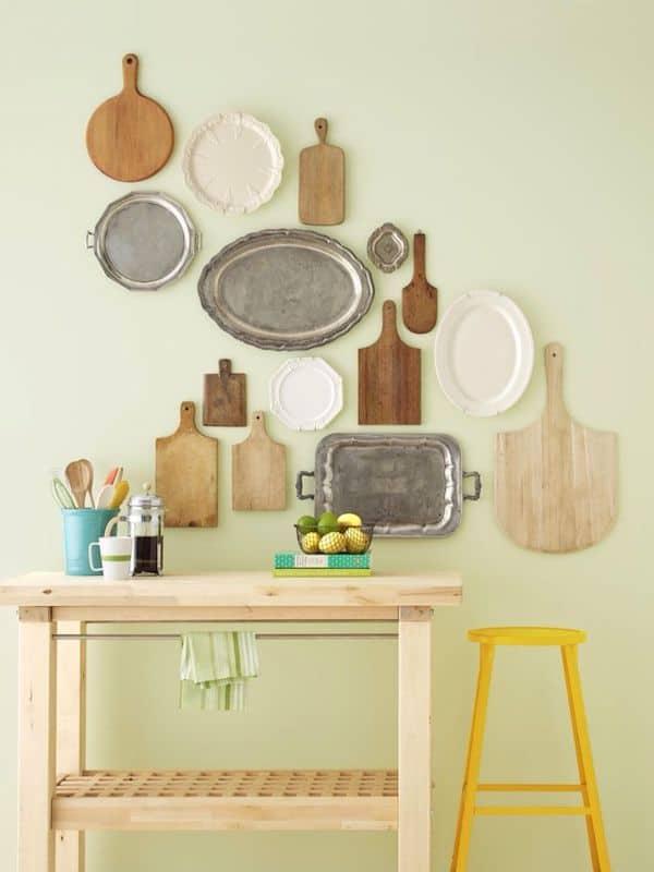 como decorar sala gastando pouco 6 ideias pendure objetos cotidianos como arte