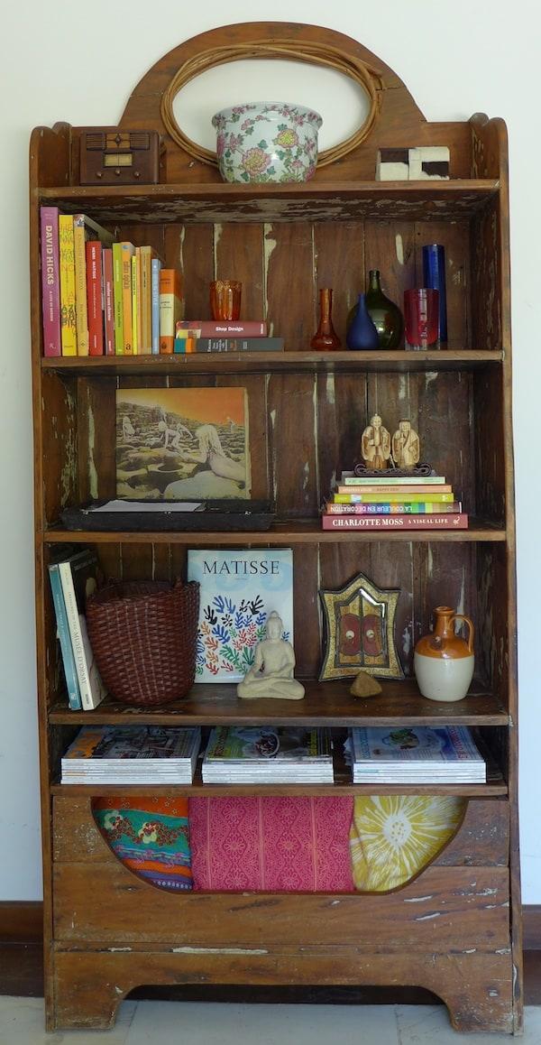como decorar sala gastando pouco arrumar estante