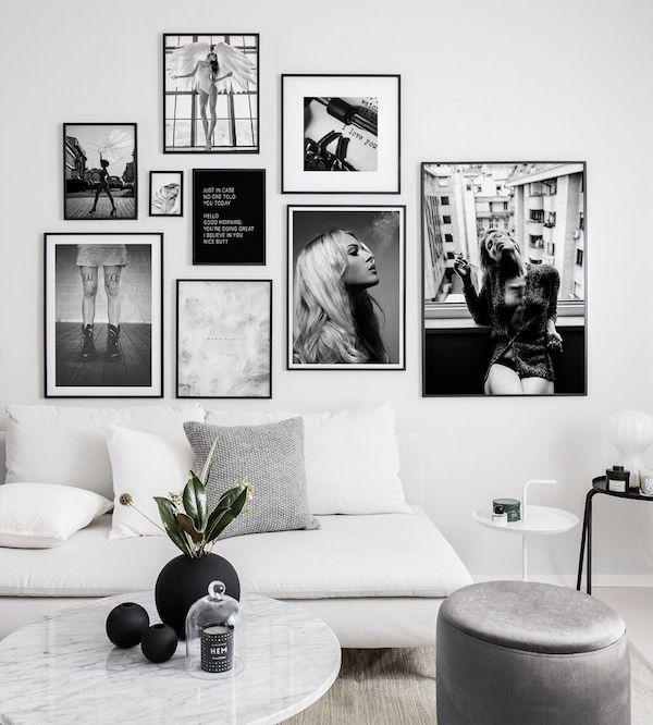 decoração com fotos galeria