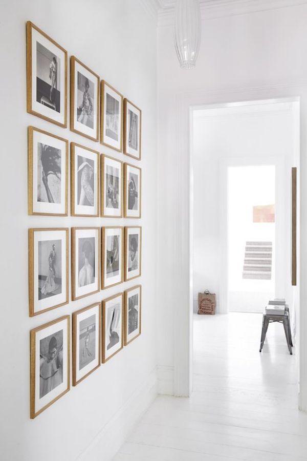 decoracao com fotos composicao em grid