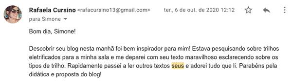 testemunhal blog via email rafaela cursino